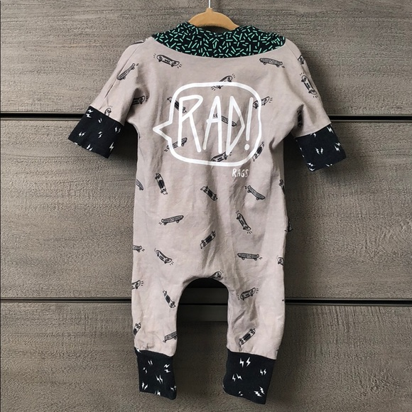 Rags to Raches Other - RAGS 3-6 mo RAD Skateboard